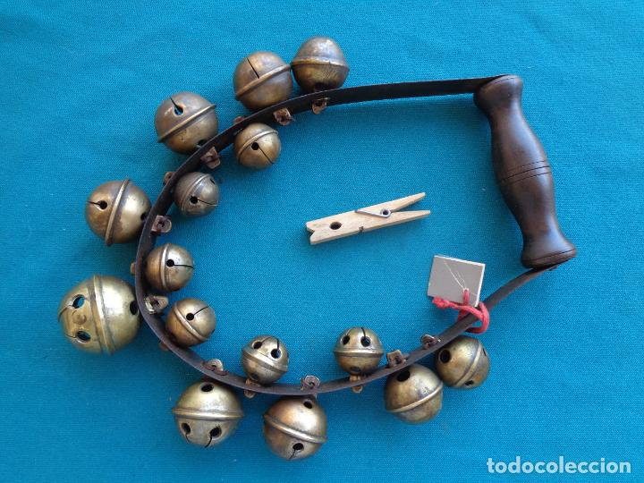 Instrumentos musicales: ETNOGRAFÍA FOLKLORE, INSTRUMENTO CON CASCABELES - Foto 4 - 276231723