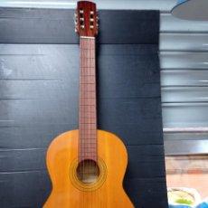Instrumentos musicales: ANTIGUA GUITARRA ESPAÑOLA, ARTESANA EN BUEN ESTADO. Lote 276386883