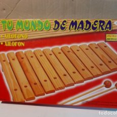 Instrumentos musicales: XILOFONO DE MADERA / XILOFON. Lote 276415803
