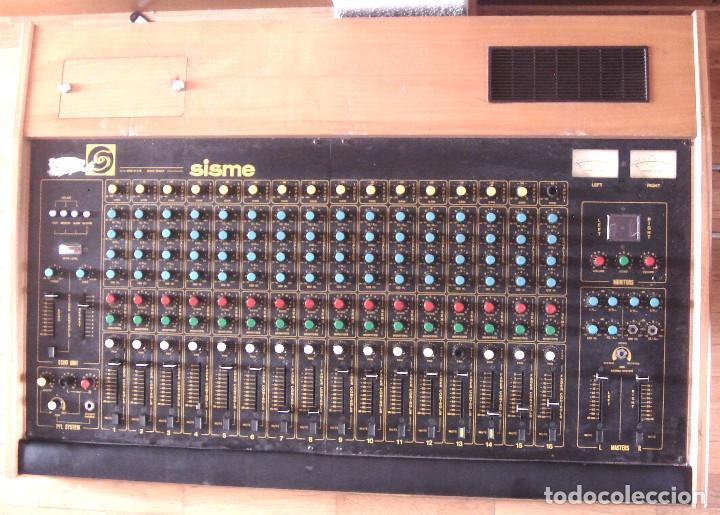 Instrumentos musicales: GRAN MESA DE ESTUDIO VINTAGE PROFESIONAL - SISME N.216 -16 CANALES -ANALOGICA MEZCLAS AUDIO MIXER - Foto 2 - 276457023