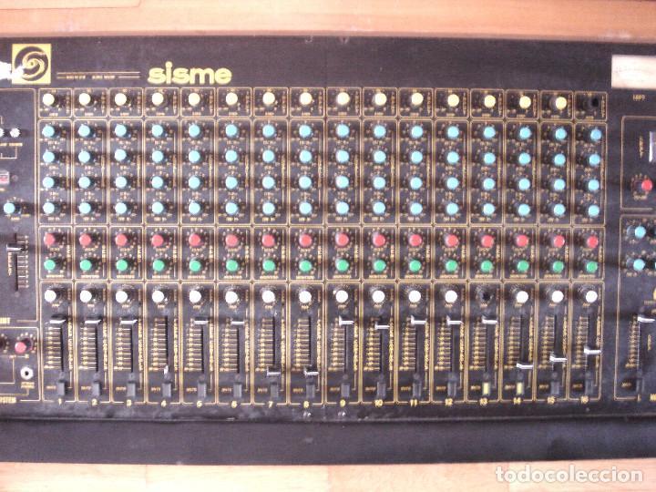 Instrumentos musicales: GRAN MESA DE ESTUDIO VINTAGE PROFESIONAL - SISME N.216 -16 CANALES -ANALOGICA MEZCLAS AUDIO MIXER - Foto 8 - 276457023