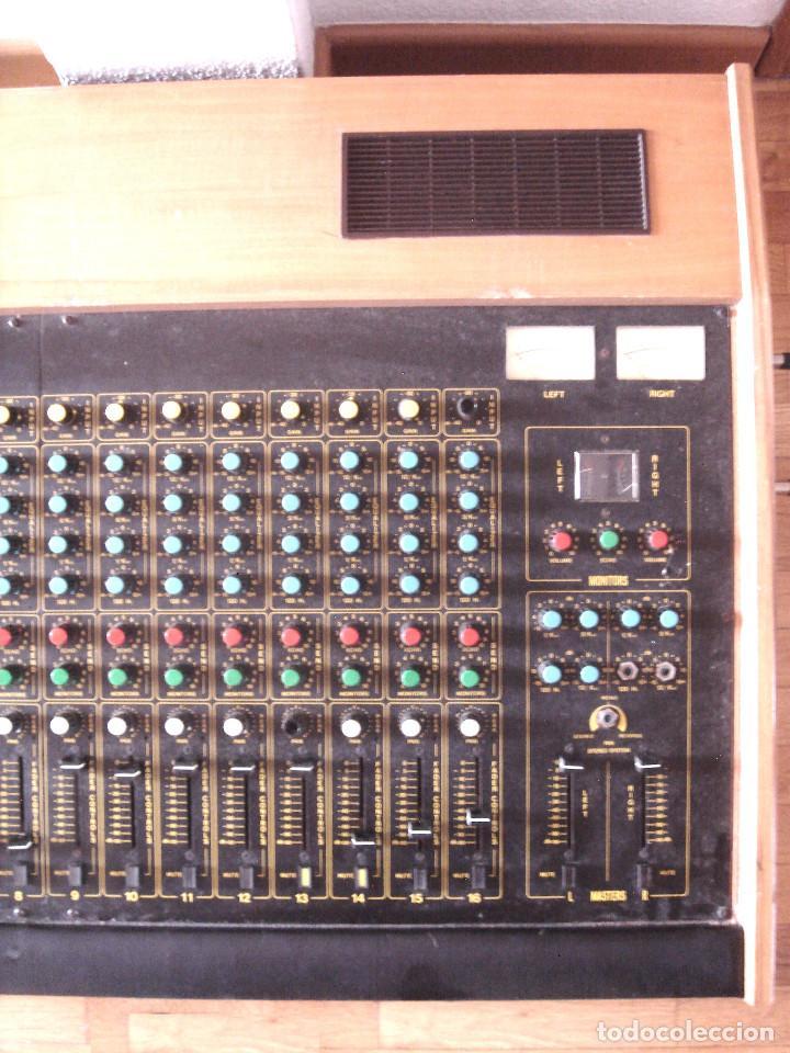 Instrumentos musicales: GRAN MESA DE ESTUDIO VINTAGE PROFESIONAL - SISME N.216 -16 CANALES -ANALOGICA MEZCLAS AUDIO MIXER - Foto 9 - 276457023