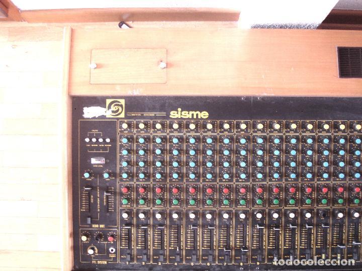 GRAN MESA DE ESTUDIO VINTAGE PROFESIONAL - SISME N.216 -16 CANALES -ANALOGICA MEZCLAS AUDIO MIXER (Música - Instrumentos Musicales - Teclados Eléctricos y Digitales)