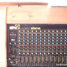 Instrumentos musicales: GRAN MESA DE ESTUDIO VINTAGE PROFESIONAL - SISME N.216 -16 CANALES -ANALOGICA MEZCLAS AUDIO MIXER. Lote 276457023