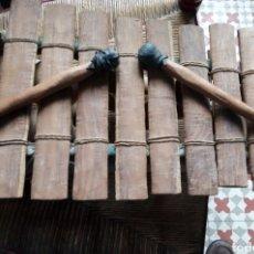 Instrumentos musicales: XILÓFONO AFRICANO O BALAFÓN - 8 LÁMINAS. Lote 276782318