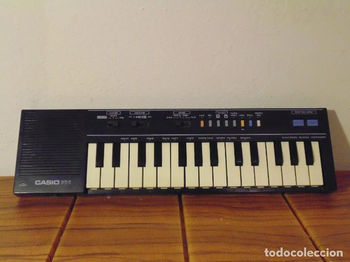 CASIO PT-1 TECLADO PIANO ÓRGANO DE INICIACIÓN *FUNCIONANDO!!* (Música - Instrumentos Musicales - Pianos Antiguos)