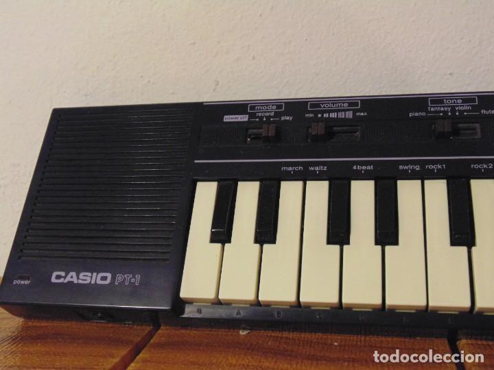 Instrumentos musicales: CASIO PT-1 Teclado Piano Órgano de Iniciación *Funcionando!!* - Foto 2 - 276803748