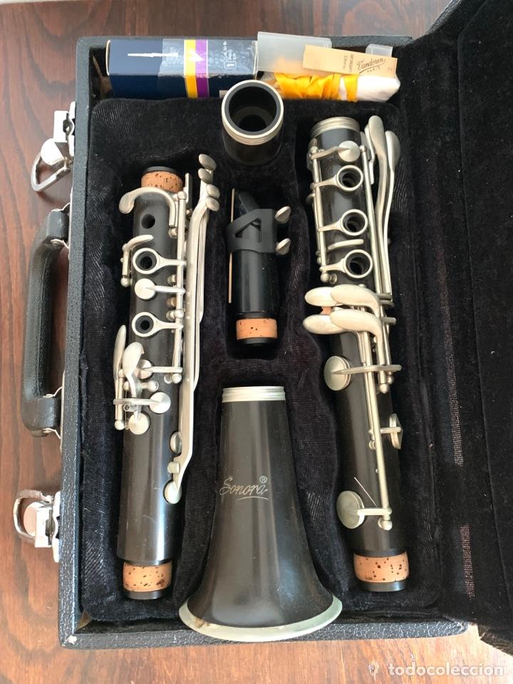 Instrumentos musicales: CLARINETE SONORA SI BEMOL. - Foto 2 - 276962733