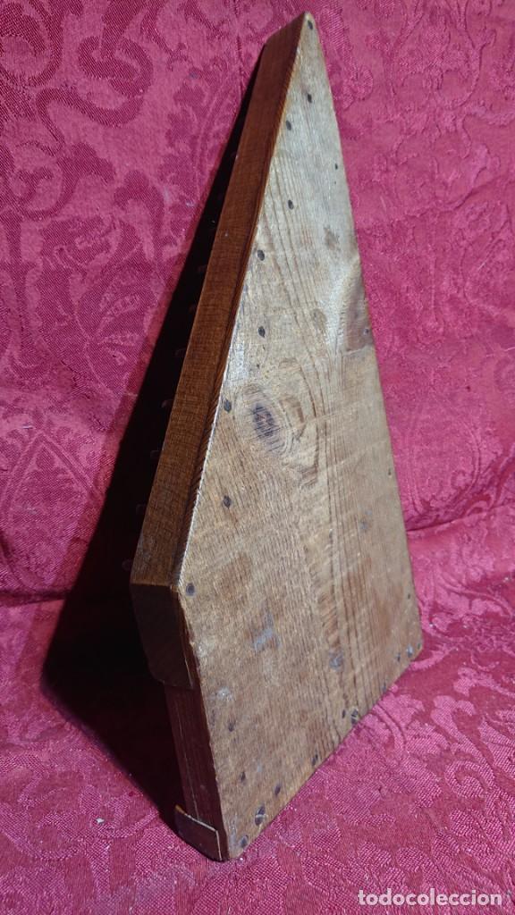 Instrumentos musicales: INSTRUMENTO MUSICAL DE CUERDA - ANTIGUA CITARA DE MADERA - - Foto 5 - 277024603