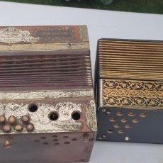 Instrumentos musicales: 2 ACORDEONES PARA RESTAURAR. Lote 277042278
