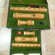 Instrumentos musicales: FLAUTAS MOECK ROTTENBURGH ALTO Y SOPRANO DE BOJ. 2. Lote 277074758