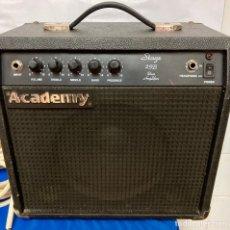 Instrumentos musicales: AMPLIFICADOR ACADEMY 25 B, PARA GUITARRA , FUNCIONA PERFECTAMENTE. Lote 277149688