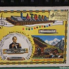 Instrumentos musicales: CATALOGO PARA APRENDER HA TOCAR LA ARMÓNICA. 1959. 95 PG .. Lote 277290018