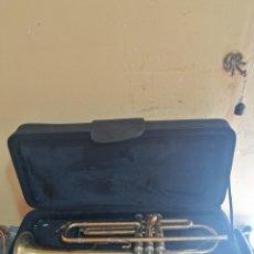 Instrumentos musicales: ANTIGUA TROMPETA MARCA CHATEAU. Lote 277458418
