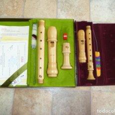 Instrumentos musicales: FLAUTAS ALTO Y SOPRANO MOECK ROTTENBURGH ARCE. Lote 277495543