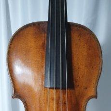 Instrumentos musicales: VIOLIN BARROCO, MANGO ORIGINAL.SIGLO XVIII. Lote 277585988