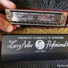 Instrumentos musicales: ARMÓNICA THE LARRY ADLER PROFESSIONAL 12.CHROMATIC. HOHNER.. Lote 277614718