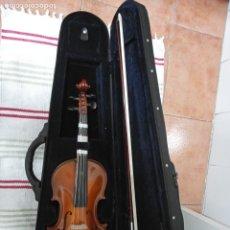 Instrumentos musicales: VIOLIN RUMANO TOPLITA 4/4 EN ESTUCHE ORIGINAL Y COSA PARA LEER PAT. Lote 278454673