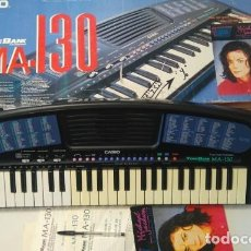 Instrumentos musicales: TECLADO PIANO MA 130 MICHAEL JACKSON PROBADO FUNCIONANDO Y EN MUY BUEN ESTADO. Lote 278608178