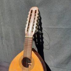 Instrumentos Musicais: VIEJA BANDURRIA ESPAÑOLA VICENTE TATAY. Lote 281013608