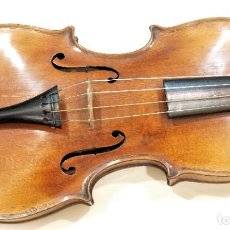 Instrumentos Musicais: VIOLÍN ANTIGUO HOPF CON SU CAJA Y 2 ARCOS. Lote 281846933