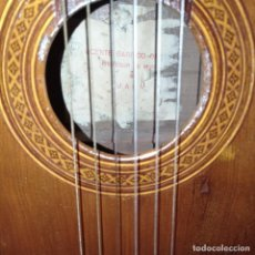 Instrumentos musicales: GUITARRA ESPAÑOLA VICENTE GARRIDO ORDOÑEZ MAESTRO MUSICA JAEN. Lote 283005613