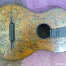 Instrumentos musicales: GUITARRA ROMÁNTICA TIROLESA 1904. Lote 283171078