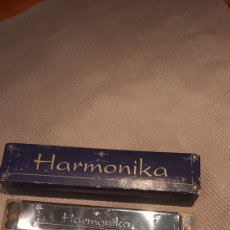 Instrumentos musicales: ANTIGUO HARMONIKA COMPLETO. Lote 283282428