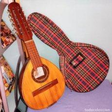 Instrumentos Musicais: ANTIGUA BANDURRIA CON SU FUNDA DE LA CASA ROCA DE VALENCIA EN MUY BUEN ESTADO. Lote 283741268