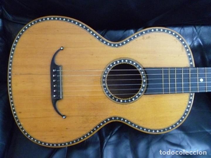 GUITARRA ROMÁNTICA MEINEL&HEROLD (Música - Instrumentos Musicales - Guitarras Antiguas)