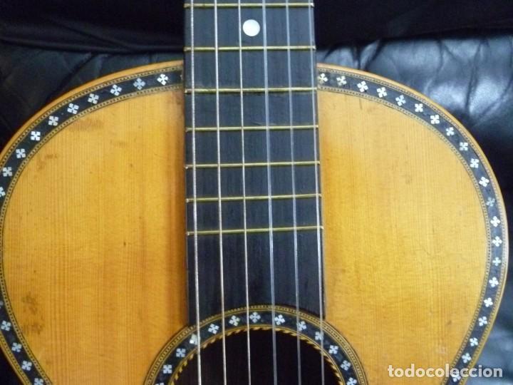 Instrumentos musicales: Guitarra romántica Meinel&Herold - Foto 2 - 283762163