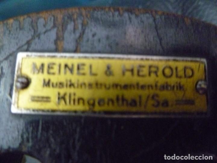 Instrumentos musicales: Guitarra romántica Meinel&Herold - Foto 4 - 283762163