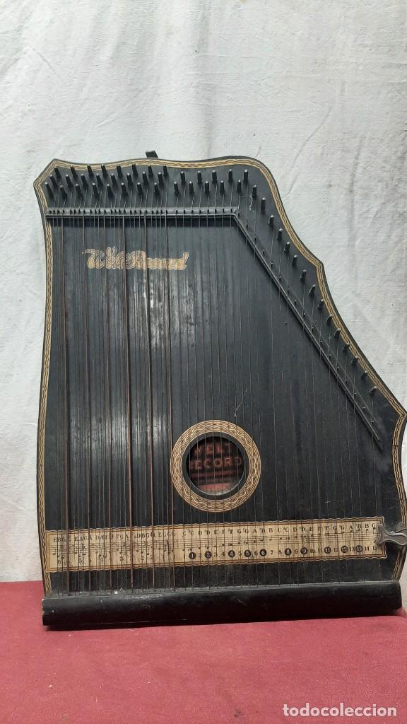 ZITARA WELL RECORD. MADE SAXONY GERMANY (Música - Instrumentos Musicales - Cuerda Antiguos)