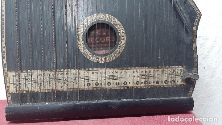 Instrumentos musicales: ZITARA WELL RECORD. MADE SAXONY GERMANY - Foto 2 - 285769868