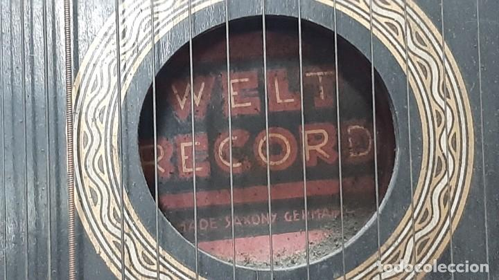 Instrumentos musicales: ZITARA WELL RECORD. MADE SAXONY GERMANY - Foto 3 - 285769868