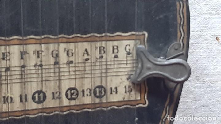 Instrumentos musicales: ZITARA WELL RECORD. MADE SAXONY GERMANY - Foto 4 - 285769868