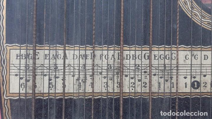 Instrumentos musicales: ZITARA WELL RECORD. MADE SAXONY GERMANY - Foto 10 - 285769868