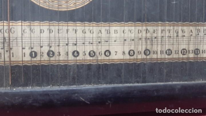 Instrumentos musicales: ZITARA WELL RECORD. MADE SAXONY GERMANY - Foto 11 - 285769868