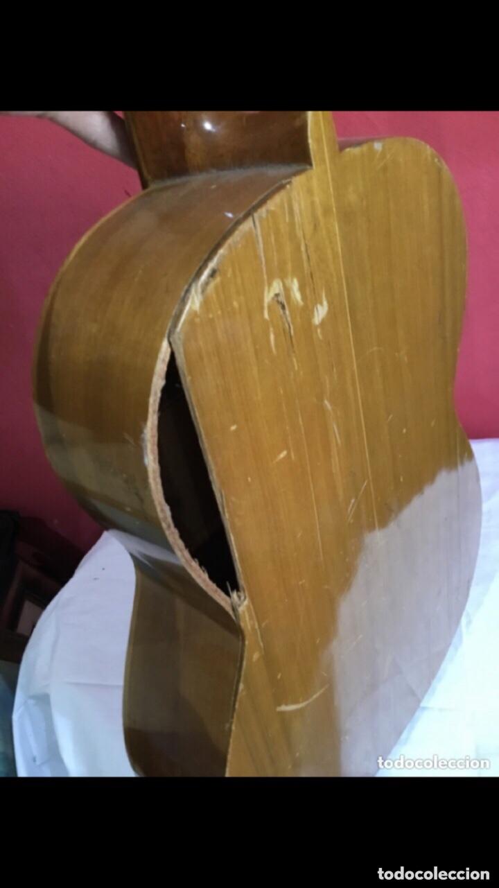 Instrumentos musicales: Antigua guitarra JOSE MAS Y MAS para restaurar.ver fotos - Foto 3 - 286012068