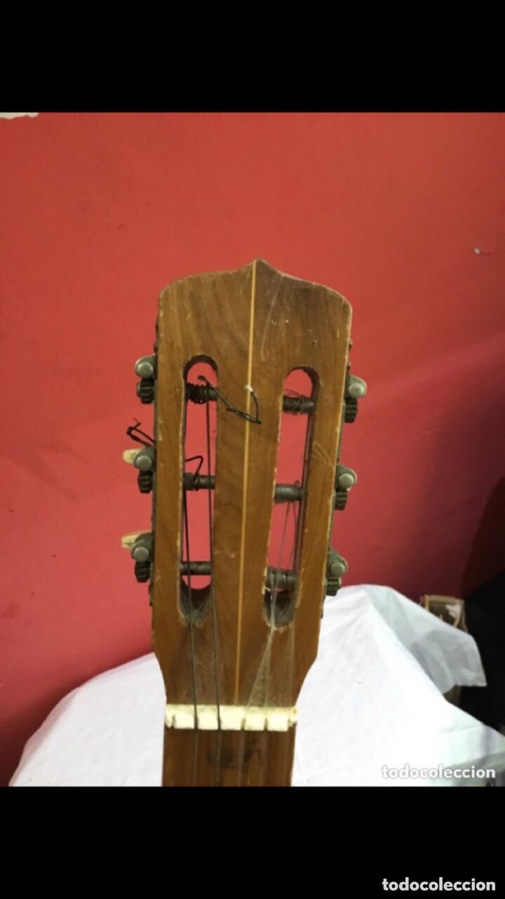 Instrumentos musicales: Antigua guitarra JOSE MAS Y MAS para restaurar.ver fotos - Foto 4 - 286012068