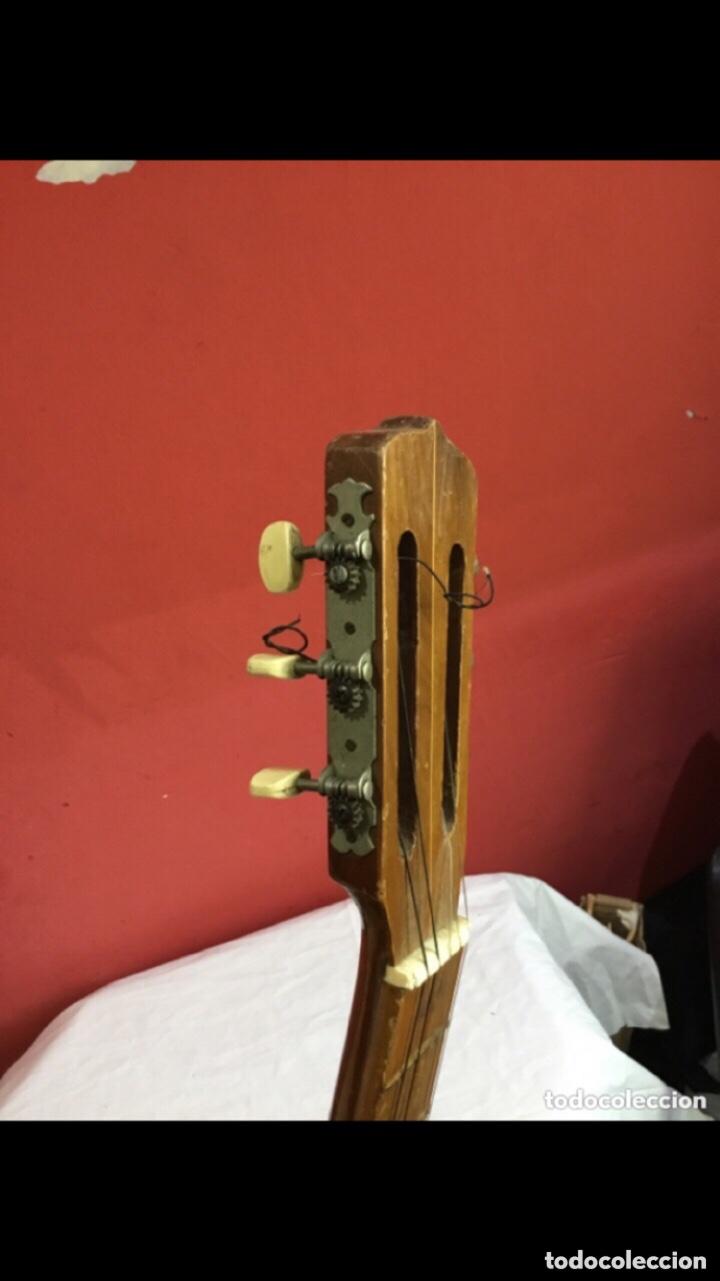 Instrumentos musicales: Antigua guitarra JOSE MAS Y MAS para restaurar.ver fotos - Foto 5 - 286012068