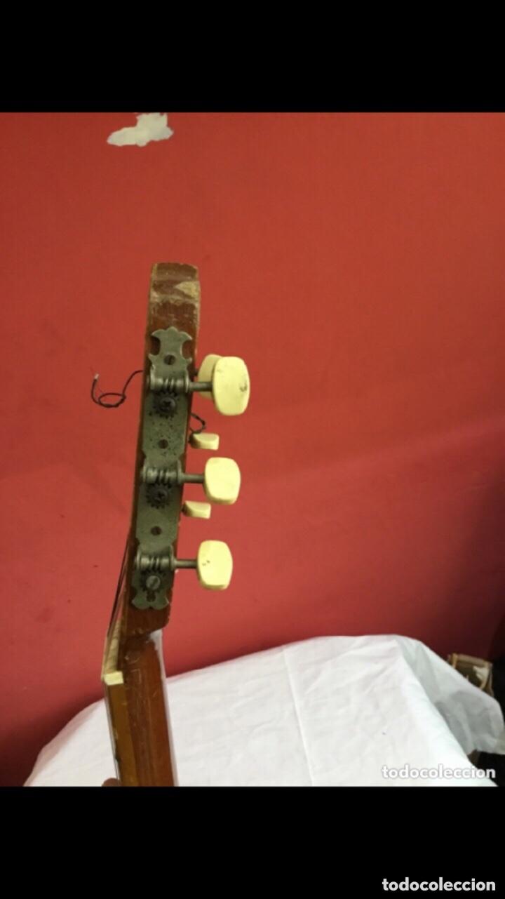 Instrumentos musicales: Antigua guitarra JOSE MAS Y MAS para restaurar.ver fotos - Foto 6 - 286012068