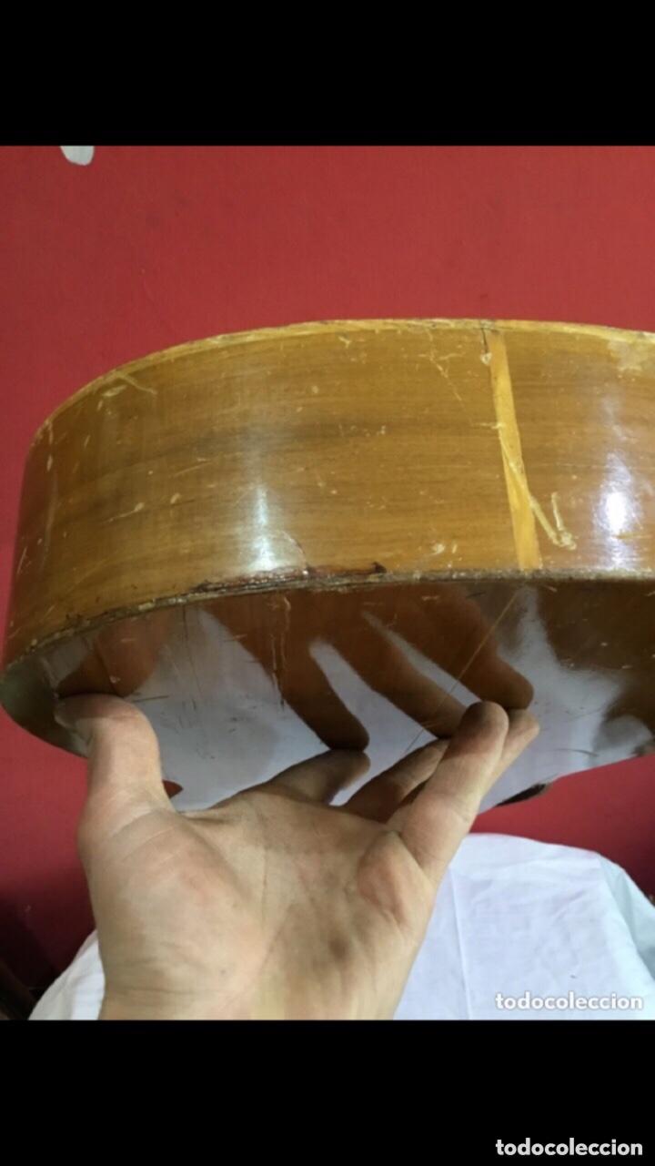 Instrumentos musicales: Antigua guitarra JOSE MAS Y MAS para restaurar.ver fotos - Foto 11 - 286012068