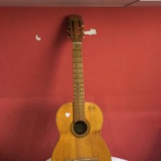 Instrumentos musicales: ANTIGUA GUITARRA JOSE MAS Y MAS PARA RESTAURAR.VER FOTOS. Lote 286012068
