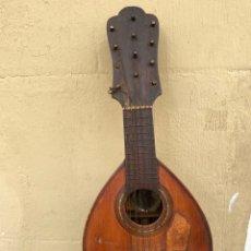 Instrumentos musicales: MAGNIFICA Y ANTIGUA BANDURRIA DE 12 CUERDAS .VER FOTOS. Lote 286350173