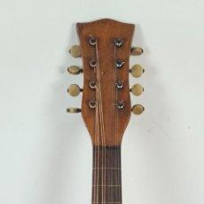Instrumentos musicales: MANDOLINA DE MADERA. 8 CUERDAS. CLAVIJERO DE HUESO. SIN MARCA. SIGLO XX.. Lote 286601208