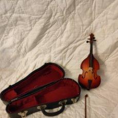 Instrumentos musicales: MINIATURA DE VIOLONCHELO. Lote 286893223