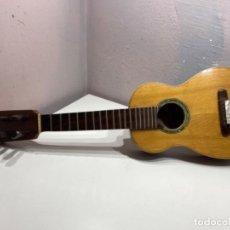 Instrumentos musicales: PIEZA DE MUSEO: GUITARRA ESPAÑOLA MINI AÑO 1933. GASPAR. LEER DESCRIPCIÓN.. Lote 287138058