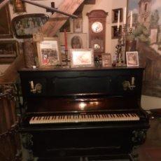 Instrumentos musicales: PIANO JULIUS BLUTHNER .EBANO Y MARFIL Nº11255LEIPZIG ROTTERDAM, CATALOGADO, FIRMADO. Lote 287147678