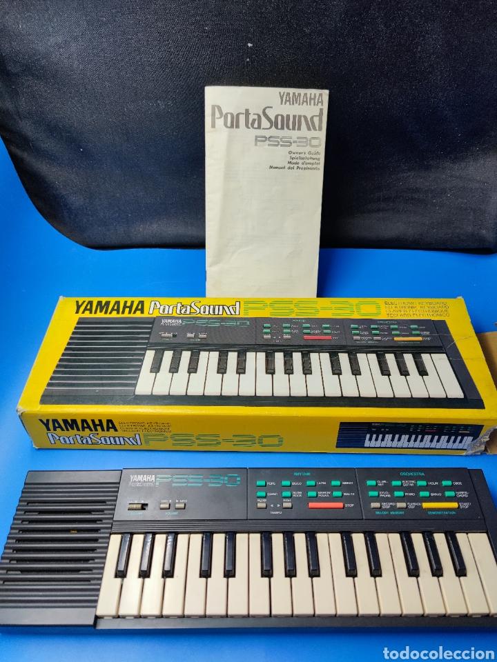 TECLADO YAMAHA PSS-30 ELECTRÓNICO VINTAGE (Música - Instrumentos Musicales - Teclados Eléctricos y Digitales)